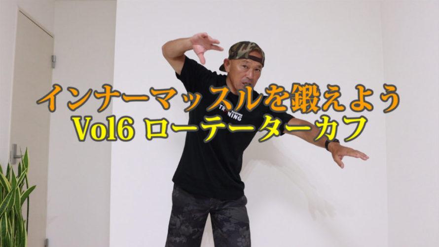 インナーマッスルを鍛えようVol6ローテーターカフ【第23回大人のスキルアップ動画】
