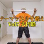 インナーマッスルを鍛えようVol5大円筋(だいえんきん)【第22回大人のスキルアップ動画】